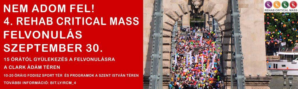 Idén is lesz Rehab Critical Mass!